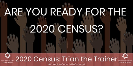 2020 Census: Train the Trainer tickets