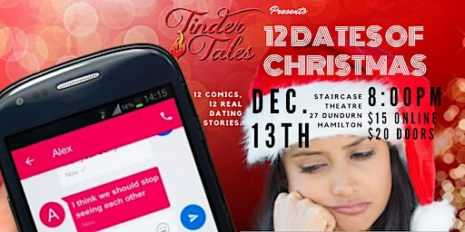 Tinder Tales: 12 Dates of Christmas, Hamilton