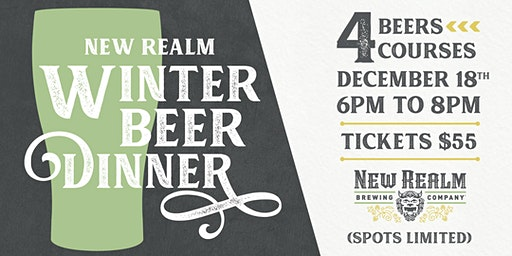 Winter Beer Dinner