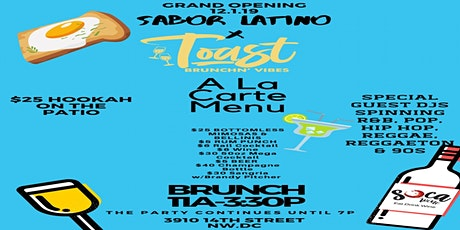 Sabor Latino x Toast Brunchin' Vibes tickets