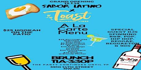 Sabor Latino x Toast Brunchin' Vibes tickets