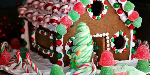 Make and Take Gingerbread Houses! (TICKETS REQUIRED)