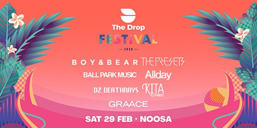 The Drop Festival 2020  Noosa