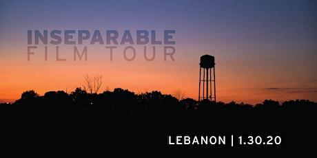INseparable Film Tour:  Lebanon tickets