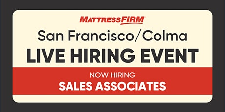 San Francisco/Colma - On-the-Spot Interviews tickets