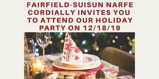Fairfield-Suisun NARFE  Holiday Party