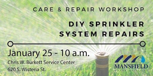 DIY Sprinkler System Repairs