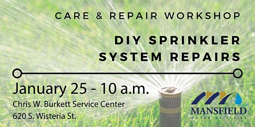 DIY Sprinkler System Repairs