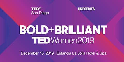 Bold & Brilliant - TEDxSanDiego Women