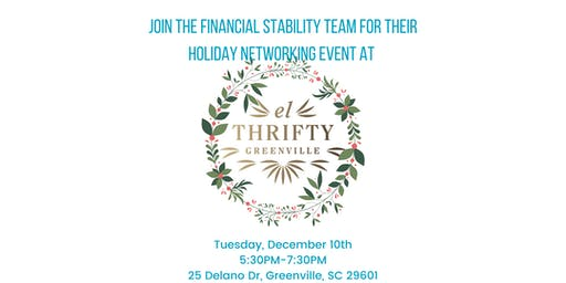 Financial Stability Holiday Networking Event