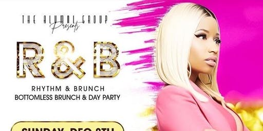 Rhythm & Brunch - Bottomless Brunch & Day Party - The Best of Nicki Minaj