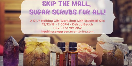 Skip the Mall, Sugar Scrubs for All!
