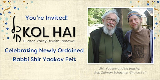 Rabbi Shir Yaakov's Ordination Party