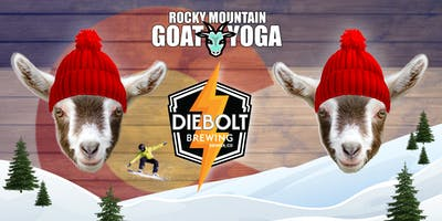 Goat Yoga - January 4th (Diebolt Brewing)