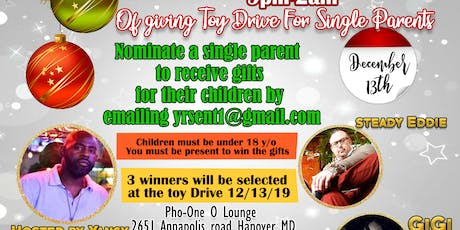 TOY DRIVE Dedicated to Single Parents tickets