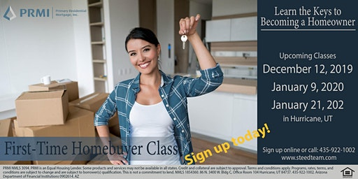 First-Time Homebuyer Class