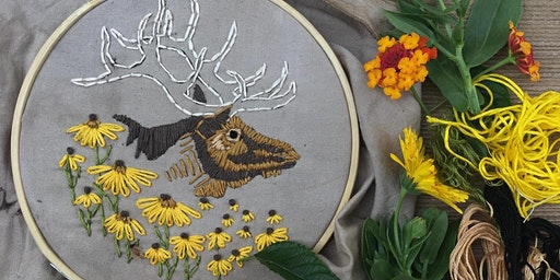 Extinct Embroidery: Eastern Elk