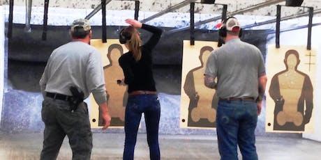 Defensive Handgun 1: Real-World Scenario Training for CCW Holders tickets