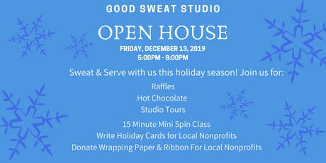 Good Sweat Holiday Open House tickets