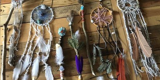 Magic Wand Visioning, Crafting & Yoga Party