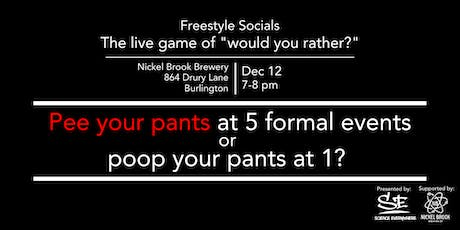 "Freestyle Social: The Live Game of ""Would-You-Rather?"" tickets"
