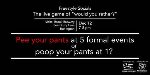 "Freestyle Social: The Live Game of ""Would-You-Rather?"""
