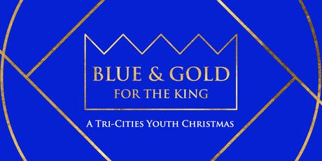 Blue & Gold Christmas tickets