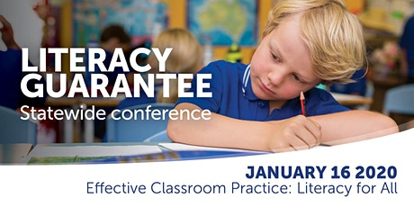Effective Classroom Practices: Literacy for All tickets