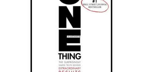 One Thing Book Club with David/Adam tickets