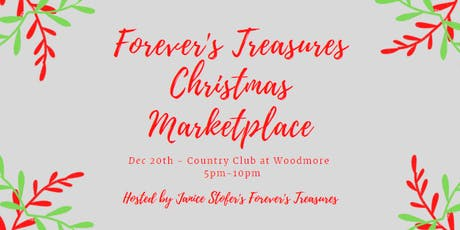 Forever's Treasures Christmas Marketplace tickets