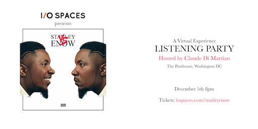 Stanley Enow Listening Party: Virtual Experience
