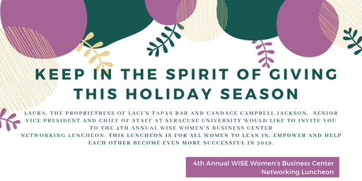 4th Annual WISE Women's Business Center Networking Luncheon