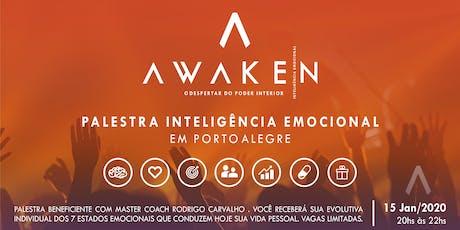 AWAKEN - Palestra Inteligência Emocional - PORTO ALEGRE ingressos