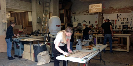 Intro to Woodworking (Mondays)