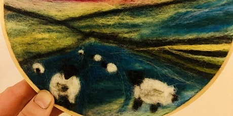 Adult Beginners 2-d Needle Felting Workshop tickets