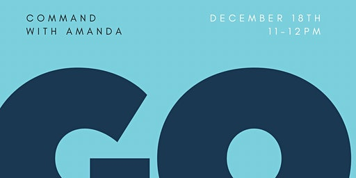 2020 Goal Setting Command w/Amanda