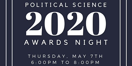 2020 Political Science Program Awards Night tickets