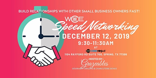 WCE Speed Networking Event