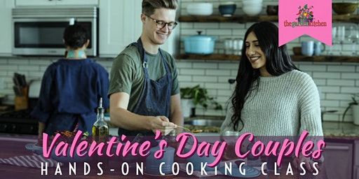Valentine's Day Couples Hands-On Cooking Class