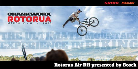 Crankworx Rotorua Air DH presented by Bosch 2020 tickets