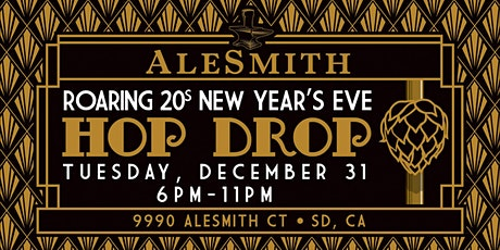 AleSmith Roaring 20's New Year's Eve Hop Drop tickets