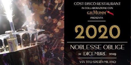 Capodanno 2020 - Cost Restaurant biglietti