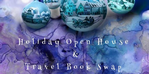 Holiday Open House & Travel Book Swap