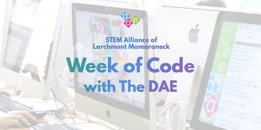 STEM Alliance of Larchmont Mamaroneck | Week of Code with The DAE
