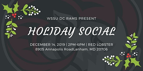 WSSU DC Metro Rams Holiday Social tickets