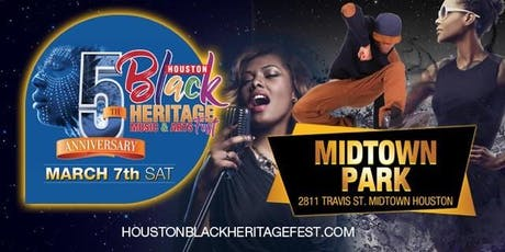 2020 Houston Black Heritage Festival tickets