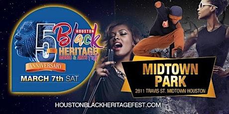 2020 Houston Black Heritage Festival tickets
