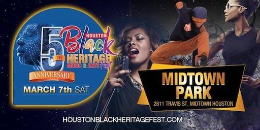 2020 Houston Black Heritage Festival