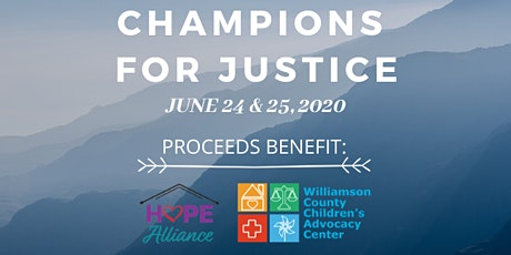 Champions for Justice tickets