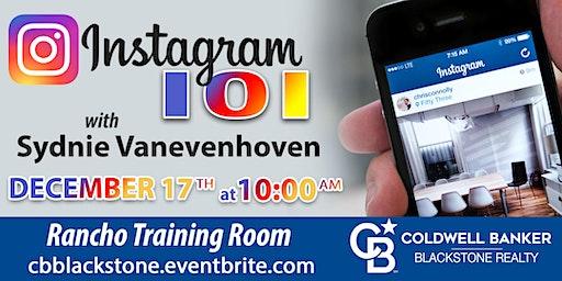 Instagram 101 w/ Sydnie Vanevenhoven